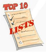 TopTen Lists