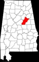 National Register of Historic Places listings in Talladega County, Alabama