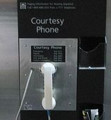 courtesy telephone - Courtesy telephone