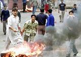 Blood in Kashmir