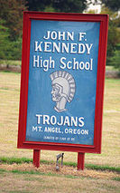 John F. Kennedy High School (Mt. Angel, Oregon)