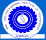 Shri S'ad Vidhya Mandal Institute Of Technology