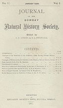 bombay natural history society
