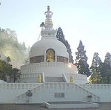 Peace Pagoda, Darjeeling