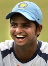 young suresh raina