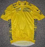 Yellow jersey statistics
