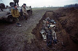 Mass graves in Chechnya