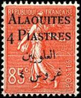 Postage stamps and postal history of Alawite State