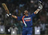 Fan of Sachin's Double Century