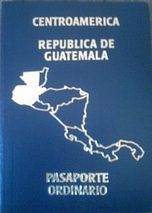 Guatemalan passport