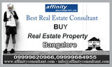 Bangalore Best Property Dealing By Affinity
