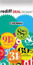 Rediff Chennai Deals