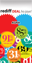 Rediff Agra Deals