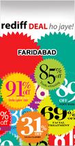 Rediff Faridabad Deals