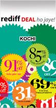 Rediff Kochi Deals