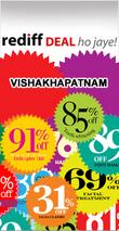 Rediff Vishakhapatnam Deals