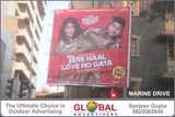 Global Advertisers promotes 'Tere Naal Love Ho Gaya' in Mumbai through outdoor