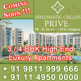 Puri Diplomatic Greens Prive Gurgaon