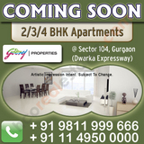 Godrej New Project Sector 104 Gurgaon