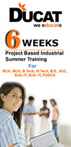 six weeks project based training Ghazibad