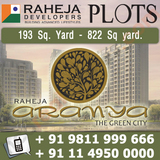 Raheja Aranya The Green City Plots Gurgaon
