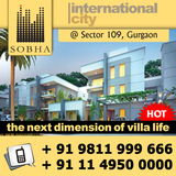 Sobha International City Phase II Villas Gurgaon