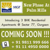 Emaar MGF Palm Hills Luxury Apartments