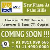 Emaar MGF Palm Hills Luxury Apartments