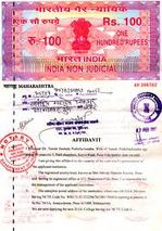 Affidavit Notary Services in WazirPur