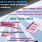 University of New Mexico grant program