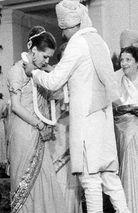 Wedding photos of GandhiParivaar