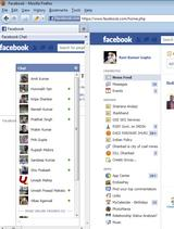 Facebook Chat Easily Access in Mozilla Firefox Sidebar
