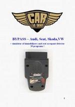 obd2motor ByPASS immobilizer Simulator ECU Unlock seat occupant detector