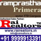 Ramprastha Primera 37D Gurgaon
