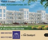 DLF 3BHK Independent Floors Hyde Park Terraces Mullanpur.Future Estates..