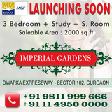 Emaar MGF Imperial Gardens Dwarka Expressway