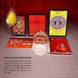 Panch Mukhi Hanuman Kawach Pendant