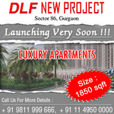 DLF New Project Sector 86 Gurgaon