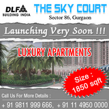 DLF SKY Court Gardencity Sector 86 Gurgaon