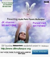 DLF HYDE PARK FLOORS MULLANPUR FUTURE ESTATES