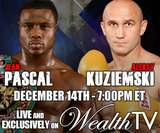 Pascal vs Kuziemski Live