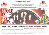 31st New Year Party At Kamath Residency Resort