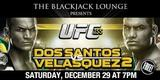 Watch UFC 155 online tonight Junior Dos Santos Vs Cain Velasquez 2 live stream