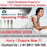 Tata New Project Sector 113 Dwarka Expressway