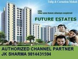 future estates ansal api tulip and carnation mohali 3bhk with servant room