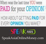 SpeakAsiaOnlineMoney.com