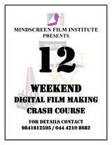 WEEKEND DIGITAL FILM MAKING CRASH COURSE