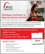 Admission Open For Business Management Programmes