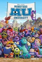 walt disney animation studios - Monsters University