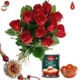 Send Rakhi with Sweets